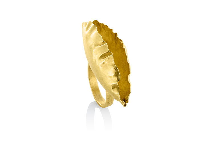 Artistar Jewels 2018 Iris Mondelaers Jewellery Golden Leaf 11