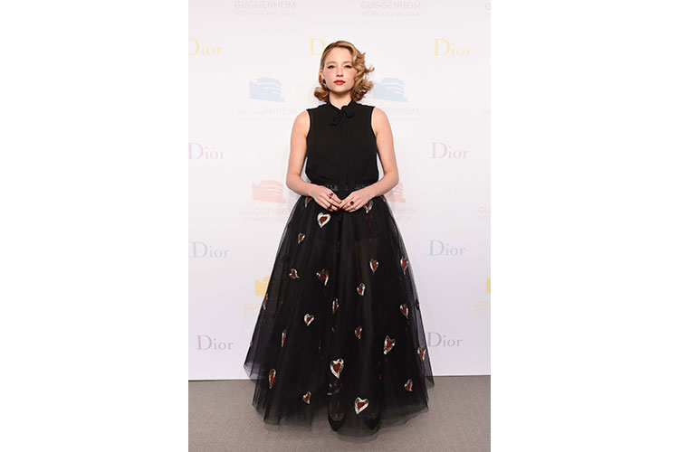 Dior sponsorizza il Guggenheim International Gala 22nov16 5